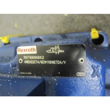Origin REXROTH DIRECTIONAL CONTROL VALVE 4WEH22C74/6EW110N9ETDA/V