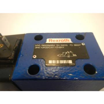 Rexroth 3WE10A33/CW110N9K4 Hydraulic Directional Valve