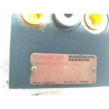 MH3WB06CG20/004M01 REXROTH BOSCH HYDRAULIC VALVE Origin UNUSED SURPLUS  STOCK