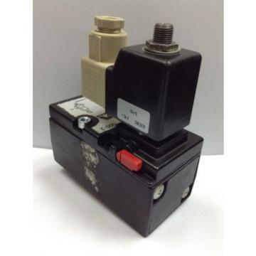Mecman Rexroth Solenoid Valve, 565-301-000-2 24 V DC COIL