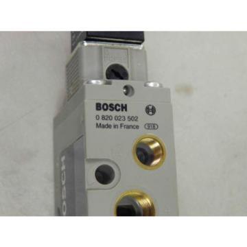 Bosch Rexroth 0 820 023 502 Solenoid Valve -origin