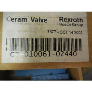 Origin REXROTH CERAM GT-010061-02440 PNEUMATIC SOLENOID VALVE GT01006102440