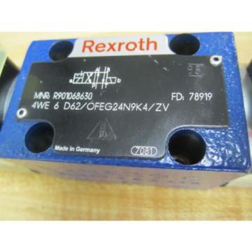 Rexroth Bosch Group 4WE 6 D62/OFEG24N9K4/ZV Valve R901068630 - origin No Box
