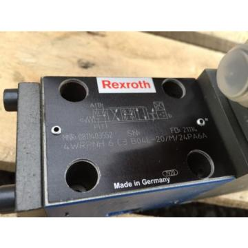 Rexroth 0811403552 Directional Control Valve 4WRPNH6C3B04L-20/M/24PA6A