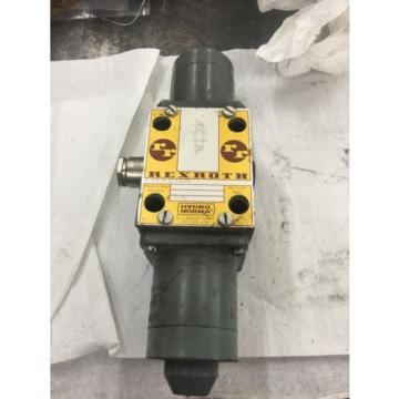 Directional valve Hydraulic 4WE8E21/G24N 24 VDC High power Solenoid Rexroth K