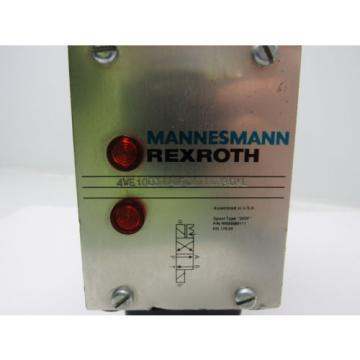 Rexroth 4WE10D31/0FCW110N9DAL Hydraulic Directional Control Valve