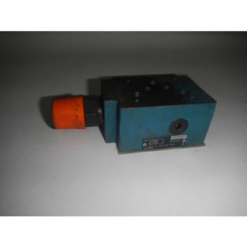 Rexroth ZDR-10-VA5-31/100Y D05 Hydraulic Reducing Valve Port A