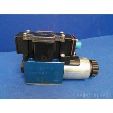 REXROTH 4WE6Y61/EG24N9DK33L 24 VDC 8 WATTS DIRECTIONAL CONTROL VALVE, NNB