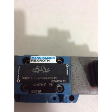 REXROTH D08 PROPORTIONAL VALVE MODEL R4WRZ 16 E3-150-60/6AG24N9ETZ4/M