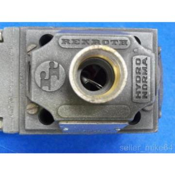 REXROTH 3WE10A41/NDL/5 HYDRO NORMA HYDRAULIC VALVE, Origin