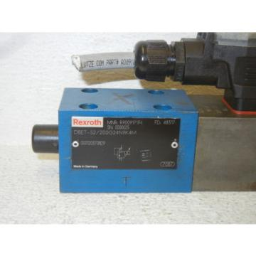 REXROTH DBET-52/200G24N9K4M USED HYDRAULIC VALVE W/ VT-SSPA1-150-10/V0/0-24