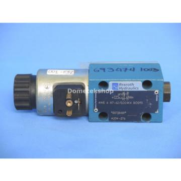 Rexroth 4WE 6 X7-62/EG24K4 SO293 Hydraulic Valve