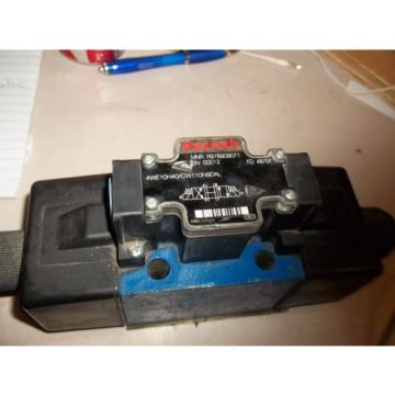 REXROTH Origin 4WE10H40/CW110N9DAL DIRECTIONAL CONTROL VALVE  LL2