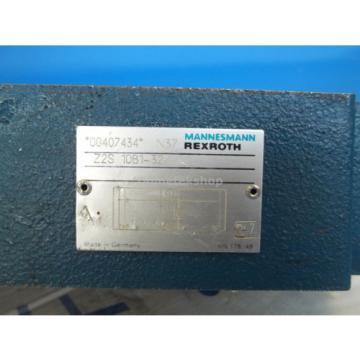 Mannesmann Rexroth Z2S 10B1-32/ Hydraulic Valve