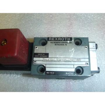REXROTH HYDRAULICS 3WE6A51/AW120-60NZ45V HYDRAULIC VALVE