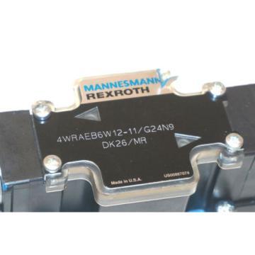 Origin REXROTH 4WRAEB6W12-11/G24N9DK26/MR HYDRAULIC VALVE 4WRAEB6W1211G24N9DK26MR