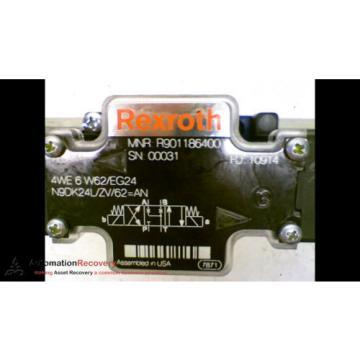 REXROTH 4WE 6 W62/EG24 DOUBLE SOLENOID VALVE 24DC 1,25A, Origin #164482