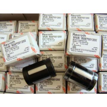 60 UNITS BOSCH REXROTH R067001200 12MM LINEAR BUSHING CNC