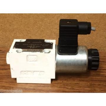 Rexroth Hydraulics 4WE 6 X7-61/EG24K4 SO293 Industrial Hydraulic Control Valve