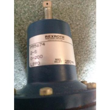 Rexroth Regulating Valve P55674-1