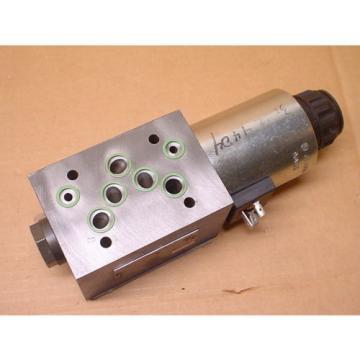 Rexroth Hydraulics Z4WE 10X250-10/CG96N9K4/V R901087114 Sandwich Isolation Valve
