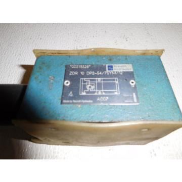 Bosch Rexroth ZDR10DP2-54/75YM/12 Pressure Reducing Valve