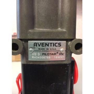 Rexroth Pilotair Aventics Air Valve