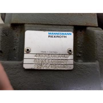 NOS REXROTH  4WE6JA51/BW110N9K4/B10 ZDR 6 DPW-42 DIRECTIONAL VALVE
