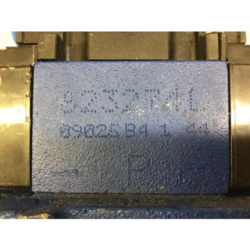 REXROTH HYDRAULIC SOLENOID VALVE, MNR: R901262802, 4WEH22 J76/6EW110, FD55515