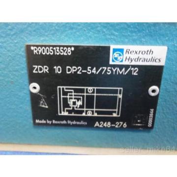 REXROTH ZDR-10-DP2-54/75YM/12 HYDRAULIC VALVE