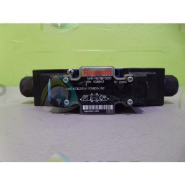 REXROTH 4WE6G62/EW110N9DAL/62 VALVE R978875060 USED