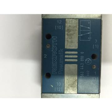 REXROTH CD-7 VALVE 563 443 0100 Toggle Type Directional Control Valve