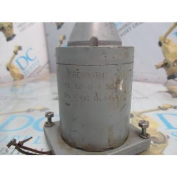 REXROTH GL 62-0-A 503 96 VDC 044 A SOLENOID VALVE