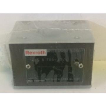 Origin REXROTH HYDRAULIC CHECK VALVE Z1S-6-T05-40/V  R901086058 FD:08W02