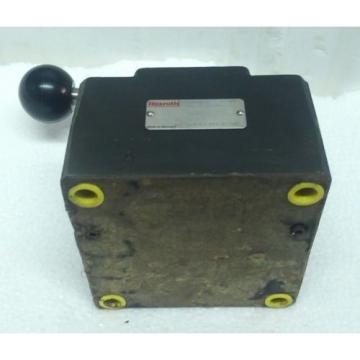 2FRM16-32/60L/J  BOSCH REXROTH R900498326 / R900423271 Flow Control VALVE Origin
