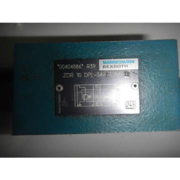 Rexroth ZDR-10-DP2-54/75YM/12 D05 Hydraulic Reducing Control Valve