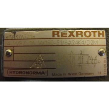 REXROTH 4 WRZ 16 W150-31/6A24K4/D2M 3 DREP 6 C-11/25A24K4M VALVE REBUILT