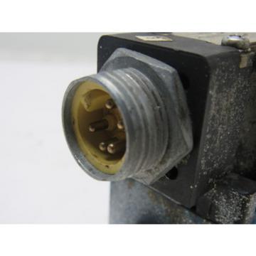 Rexroth Mannesmann 4WE6D61/0FEW110 Directional Hydraulic Valve 110V