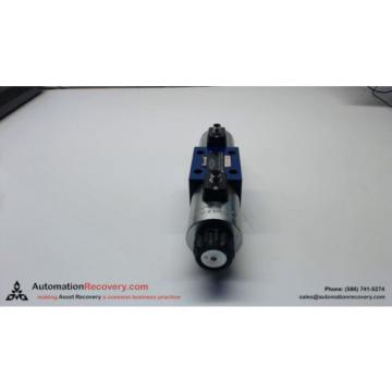 REXROTH 4WE10J73-33/CG24N9K33L/A12 HYDRAULIC VALVE 24VDC COILS #136063
