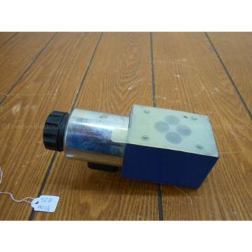 Bosch Rexroth R900738495 4WE 6 D28-62/EG24K4 SO293 Valve w/ R900221884 Solenoid