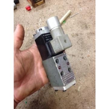 Rexroth Directional Control Solenoid valve 4port Hydraulic 4WE5N61/W120-60NZ4