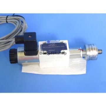 Rexroth 4WE 6 Y2-62/EG24K4QMBG24 SO293 valve with GIV 50 end switch