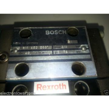 2 BOSCH REXROTH  DREB6X  PROPORTIONAL PRESSURE REDUCING VALVE PILOT OPERATED