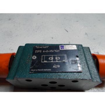 Rexroth Z2FS-6-2-43/1QV Hydraulic Dual Flow Control Valve D03