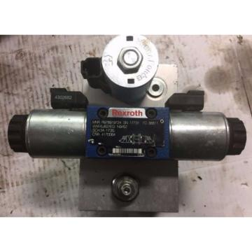 Rexroth Directional Control Valve with Manifold block