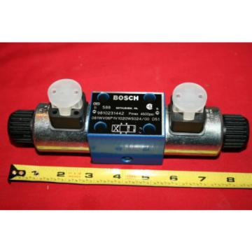 Origin Bosch Rexroth Hydraulic Flow Control Valve 9 810 231 442 9810231442 - BNWOB