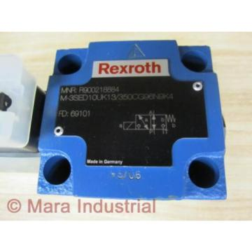 Rexroth Bosch R900218884 Valve M-3SED10UK13/350CG96N9K4 - origin No Box