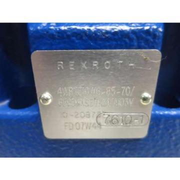 Origin REXROTH 4WRZE10W6-85-70/6E624N9ETK31/A1D3V HYDRAULIC SOLENOID VALVE D518078