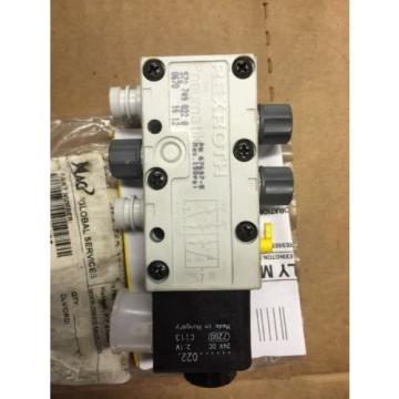 REXROTH 5727490220 5 Way Valve Pneumatik 24V DC
