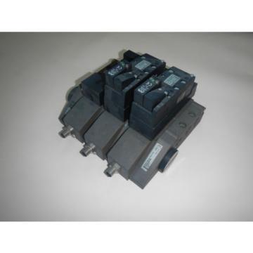 Rexroth 261-108-110-0 2 Stack Manifold Unit Pneumatic Valve